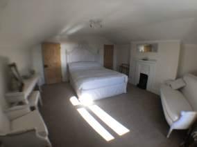 Top floor king size room